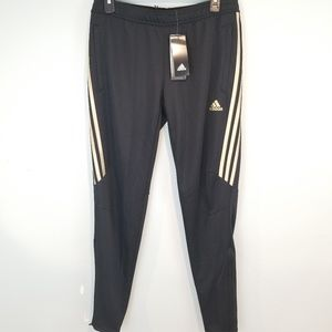 Adidas Tiro Pants w/ ankle zipper size M NEW